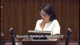 Znowu nocą, w pośpiechu i niekonstytucyjnie – Gasiuk-Pihowicz.