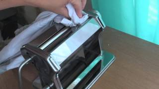 How to Clean Pasta Machine [Video]