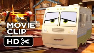 Planes: Fire & Rescue Movie CLIP - First Kiss (2014) - Disney Animated Sequel HD