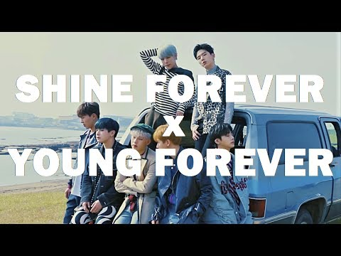 MONSTA X/BTS - Shine Forever+Young Forever