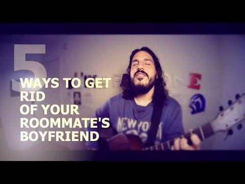 boyfriend - Five creative ways to get rid of your roommate's boyfriend. WARNING: Works on all sexes. Pre Order the new Grey & Pink #HeyShhDont Shirt!: http://dftba.com/product/1hk/Shhh-Dont-Pink-Shirt...