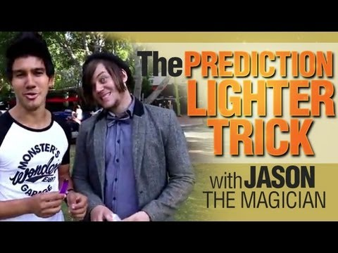 Free Magic Trick: Learn The Prediction Lighter Trick With Jason The Magician