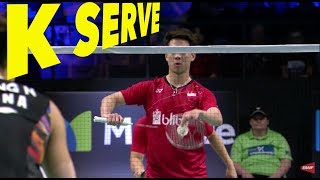 Video 3 Types of Kevin Sanjaya SERVE MP3, 3GP, MP4, WEBM, AVI, FLV September 2018