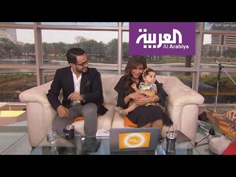 العرب اليوم - ابنة مهيرة عبد العزيز تهنئها في