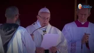 MENSAJE Y REZO DEL ÁNGELUS CON EL PAPA FRANCISCO 15-10-2017