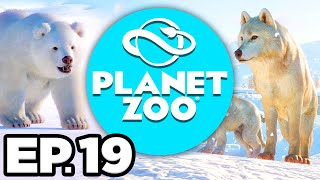 Planet Zoo: Arctic Pack Ep.19 - • • BACTRIAN CAMELS HABITAT!!! (Gameplay / Let's Play)