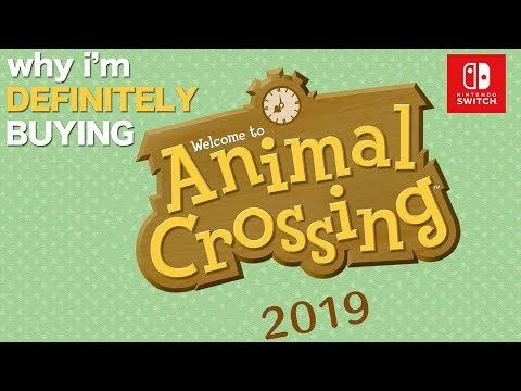 Animal Crossing WHY im so EXCITED【Switch 2019】 (видео)