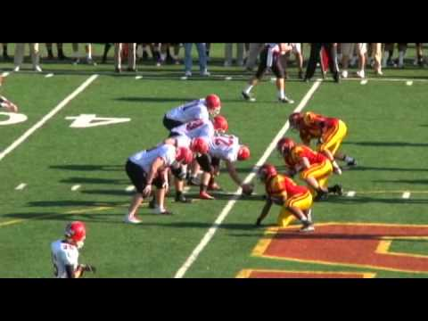 Conor Hanratty 2010 High School Highlights video.