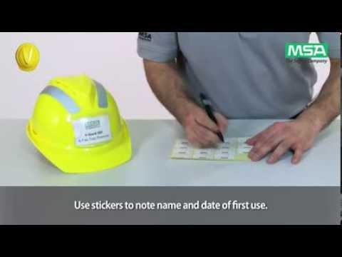 MSA V-Gard Helmet System: