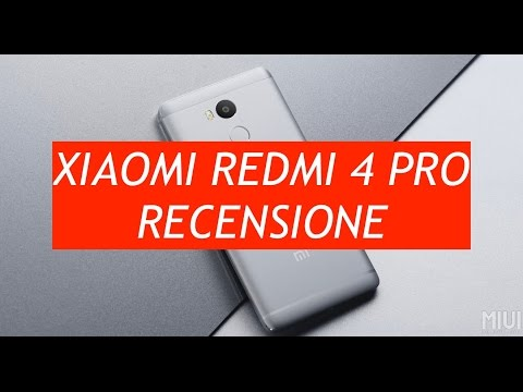 Recensione Xiaomi Redmi 4 Pro (High Edition)