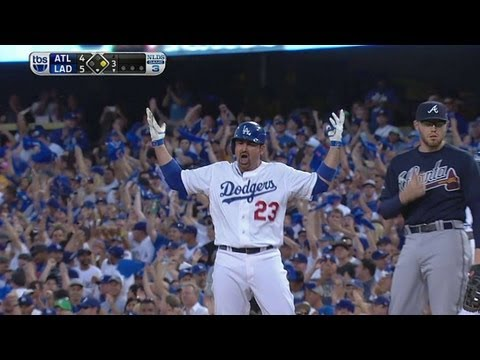 Video: Adrian drives home Hanley on RBI knock