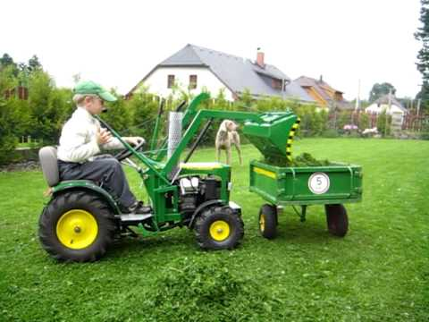 John deere tractor for children