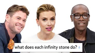 Video Avengers: Endgame Cast Answer 50 of the Most Googled Marvel Questions | WIRED MP3, 3GP, MP4, WEBM, AVI, FLV Mei 2019