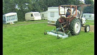 4. Cutting Grass With My Tractor And Finish Mower,