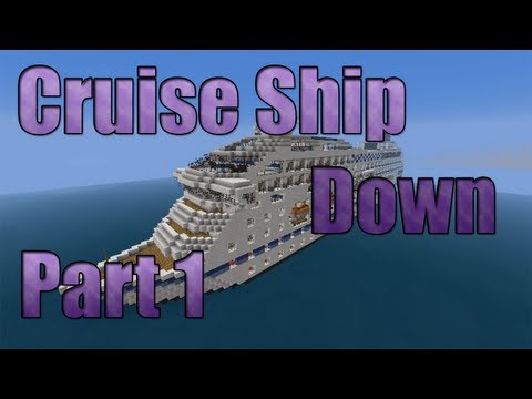 custom minecraft map downloads - Download Map Here: http://www.minecraftforum.net/topic/1938754-162-adv-cruise-ship-down/