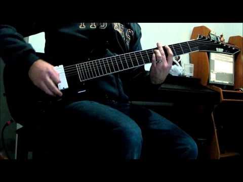 ESP Stef B8 - Deftones - RX Queen, 8 String Guitar Cover