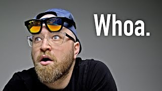My original bone conduction headphone video - https://youtu.be/rCqisXxtego?list=PL7u4lWXQ3wfI_7PgX0C-VTiwLeu0S4v34Zungle Panther (USA Link) - http://amzn.to/2uvV2PkZungle Panther (International) - http://geni.us/8l8bThese sunglasses use a cool technology called bone conduction in order to transmit audio to your brain. FOLLOW ME IN THESE PLACES FOR UPDATESTwitter - http://twitter.com/unboxtherapyFacebook - http://facebook.com/lewis.hilsentegerInstagram - http://instagram.com/unboxtherapyGoogle Plus - http://bit.ly/1auEeak