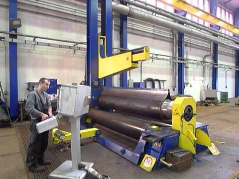 4 placa rolo máquina de dobra HAEUSLER VRM - HY 3000x60 2007