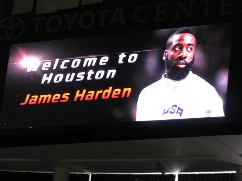 Houston Rockets Welcome James Harden And Have A Rookie Dance Off