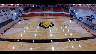 King's College Scandlon Gym Floor Renovation-Timelapse