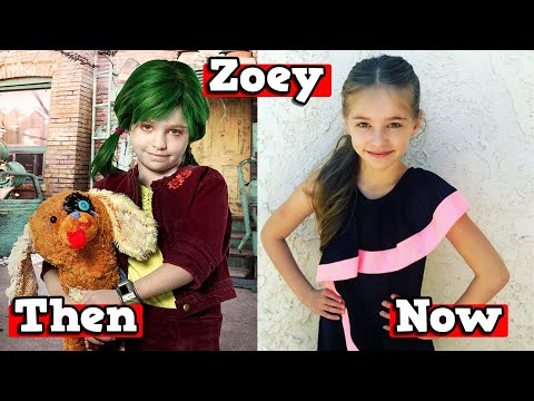 Z-O-M-B-I-E-S Cast - Then and Now 2020