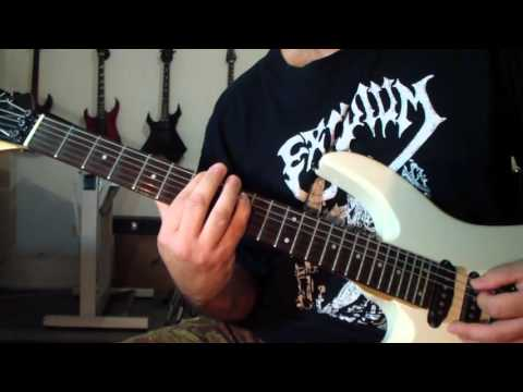 Death -  Scream Bloody Gore (guitar cover)