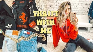 Video BEST COME THRIFT WITH ME EVER ☆ Tommy, Adidas, Levis & Fila MP3, 3GP, MP4, WEBM, AVI, FLV Desember 2018