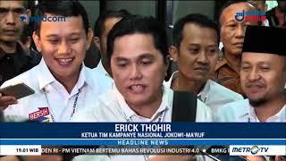 Video Pernyataan Menyejukkan Erick Thohir Usai Rapat Perdana TKN MP3, 3GP, MP4, WEBM, AVI, FLV Januari 2019