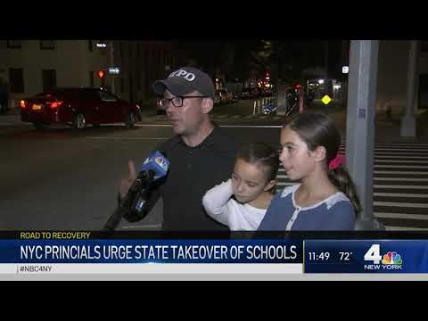 NYC Principals Urge State Takeover of Schools | NBC New York COVID-19 Update