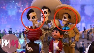 Video Top 10 Coco Easter Eggs You Never Noticed MP3, 3GP, MP4, WEBM, AVI, FLV Juli 2018