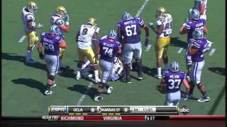 Tony Dye vs USC and Kansas State 2010
