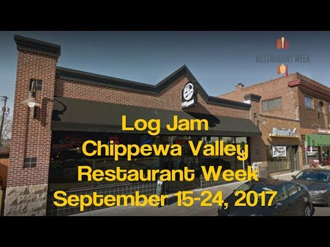 Log Jam - Chippewa Valley Restaurant Week - Eau Claire WI - Sept 2017