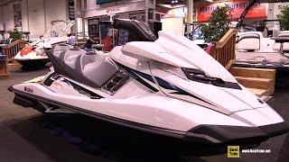 8. 2015 Yamaha WaveRunner FX Cruiser SVHO Jet Ski - Walkaround - 2015 Toronto Boat Show