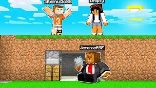 Minecraft Speedrunners VS 4 Hunters (Eat Any Blocks)