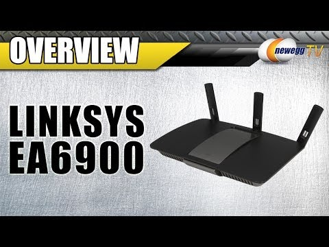 Linksys AC1900 Dual Band SMART Wi-Fi Gigabit Router (EA6900) Overview - Newegg TV