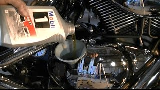 8. Suzuki C90 Oil Change and Final Gear Oil Boulevard