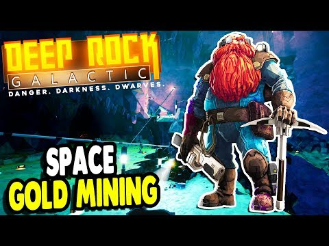 Epic GOLD MINING Operation & SPIDER ATTACK | Deep Rock Galactic Gameplay