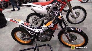 8. 2016 Honda Cota 4RT Repsol Trial Bike - Walkaround - 2015 AIMExpo Orlando