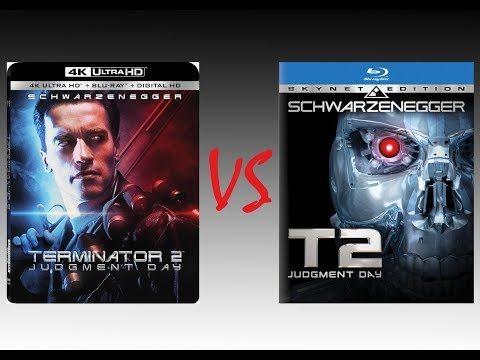 ▶ Comparison of T2: Judgment Day 4K HDR10 (DNR) vs T2: Judgment Day 4K Skynet Blu-Ray Edition