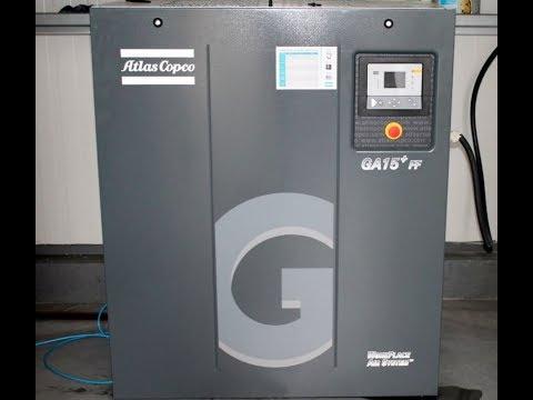 Screw Compressor ATLAS COPCO GA 15P FF 2012