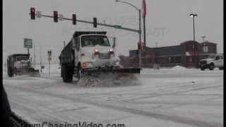Hays (KS) United States  city photos : 2/20/2013 Hays, KS Winter Storm Footage