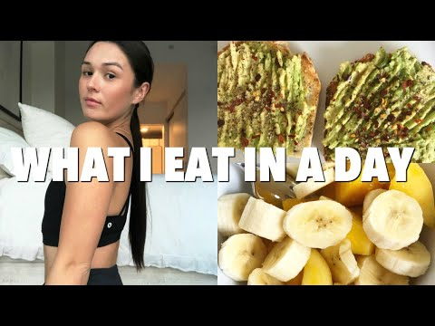 WHAT I EAT IN A DAY: Healthy + Food Combining