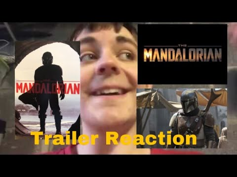 Reaction Video: The Mandalorian Trailer/BTS