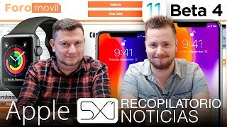 Noticias Apple: iOS 11.1 beta 4, iPhone X Plus, Foromovil y Apple Watch salva vidas