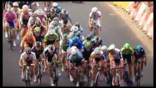 Résumé de la 1er étape du tour de France 2013 (victoire de Kittel) - YouTube