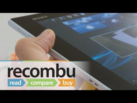 Sony - Enjoy our Sony Xperia Z first-look review and check out http://recombu.com/mobile/reviews/sony/xperia-tablet-z/ for more information.