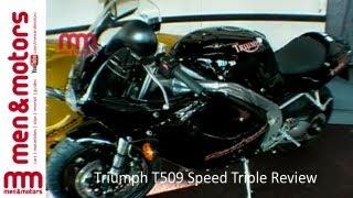9. Triumph T509 Speed Triple Review
