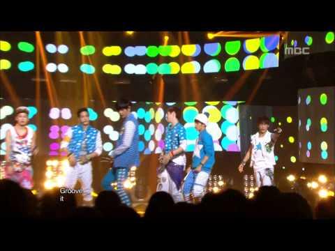 BTOB - WOW, 비투비 - 와우, Music Core 20121013 (видео)