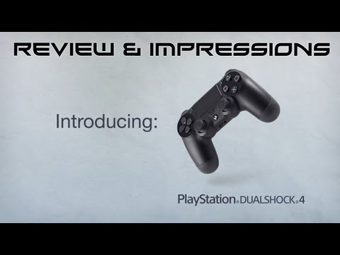 PS4: DualShock 4 Controller - First Impressions & Review