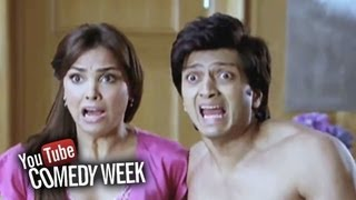 Nonton Riteish and Lara Dutta in trouble - Comedy Sequence - Housefull Film Subtitle Indonesia Streaming Movie Download